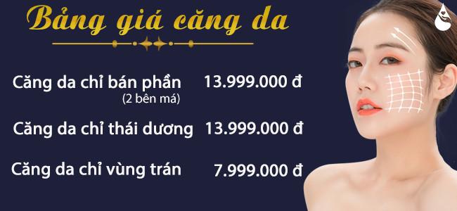Bảng giá căng da tại Phú Khang