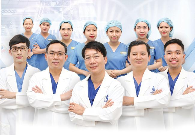 Đội ngũ bác sĩ chuyên nghiệp