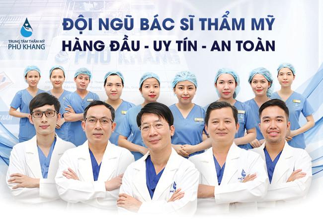 Đội ngũ bác sĩ tại Phú Khang