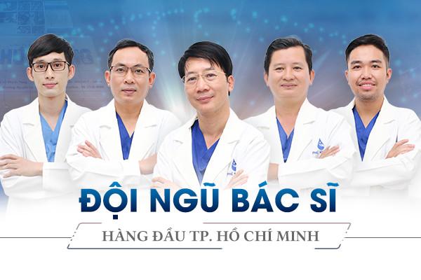 Đội ngũ bác sĩ nâng mũi tại Phú Khang
