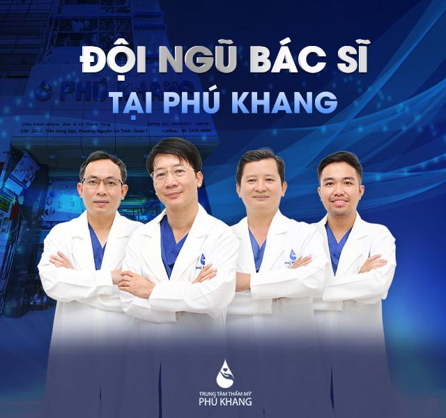 Đội ngũ bác sĩ uy tín về nhấn mí mắt ở đâu đẹp tại Phú Khang