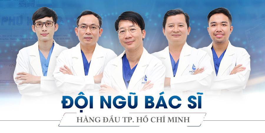 Đội ngũ bác sĩ Cắt mí mắt có đau không Phú Khang chuyên nghiệp