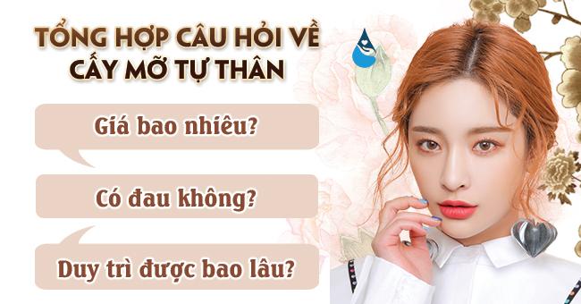 Tổng hợp những câu hỏi cấy mỡ tự thân tại Phú Khang