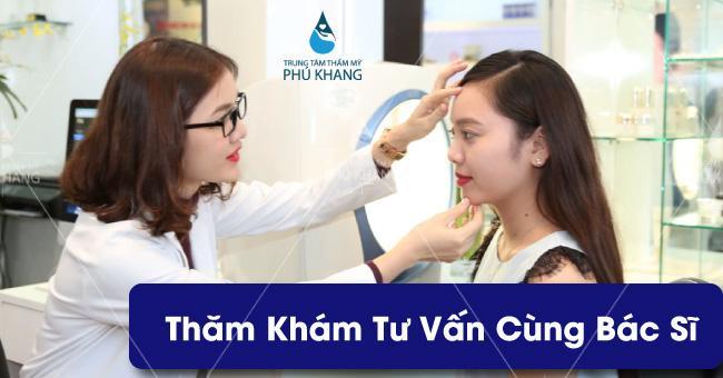 Tư vấn cùng chuyên gia Spa tại Phú Khang