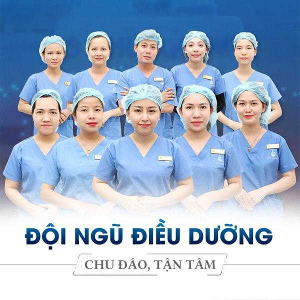 Đội ngũ điều dưỡng phú khang