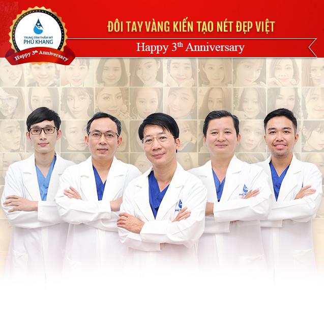 đội ngũ bác sĩ Phú Khang