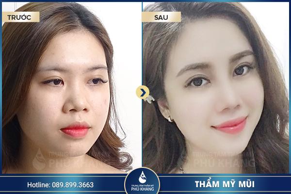 Hình ảnh khách hàng tại TMV Phú Khang