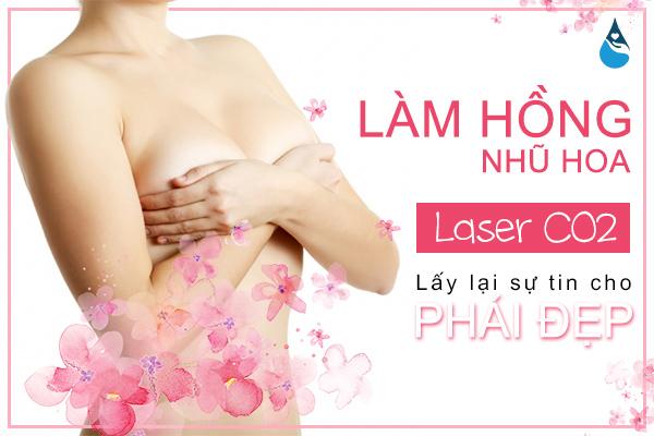 công nghệ Laser CO2 Fractional làm hồng nhũ hoa