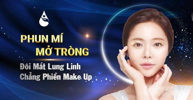 Xăm mí mắt Hàn Quốc - Đôi mắt to tròn không cần eyeliner