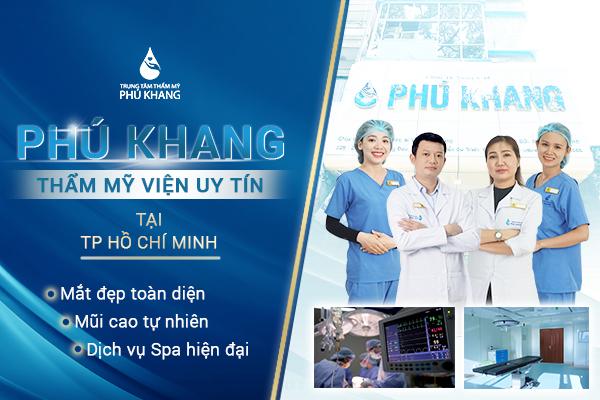 độn cằm ở đâu đẹp tại TPHCM , thẩm mỹ viện Phú khang