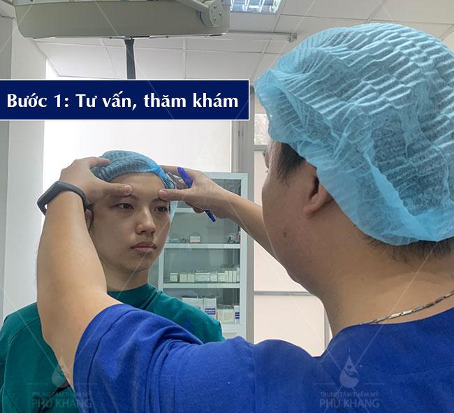 quy trình Cắt mắt Plasma , kiểm tra tư vấn
